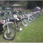 Yamaha XT500s at Bethany