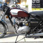 Triumph T140V at Yankalilla 28/5/17