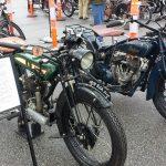 Vintage 1926 BSA SV and 1928 Indian