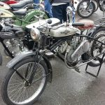 1949 Whizzer and 1958 Triumph Tiger Cub