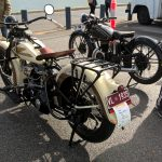 1930s Harley and Velocette