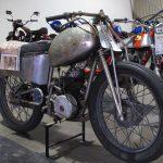 Tilbrook wall of death bike.