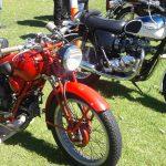 Motoguzzi 500cc and Triumph T100