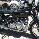 Another Vincent this one spotted at the Yorke Peninsula Rally