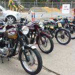 Bikes at the V&V Sporting Car Club display on Anzac Hwy