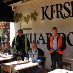 Kersbrook Hill Wines patio.
