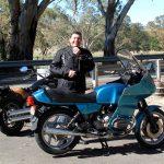 John Groeschel with an R100RT