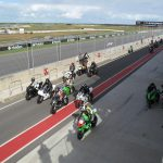 Club Racing - in the pit lane Sept 18