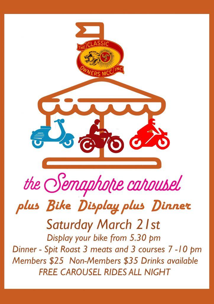 Semaphore Carousel Bike Display